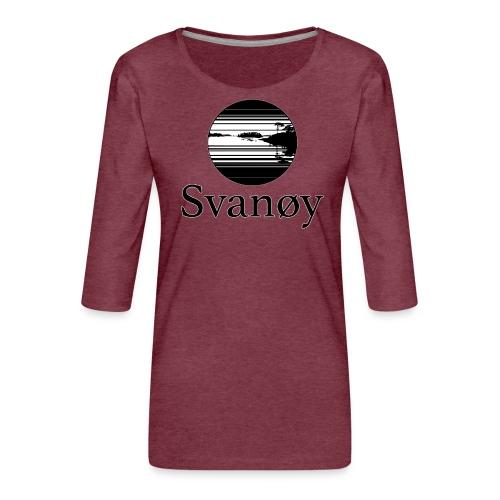Fyrstikk - Premium T-skjorte med 3/4 erme for kvinner