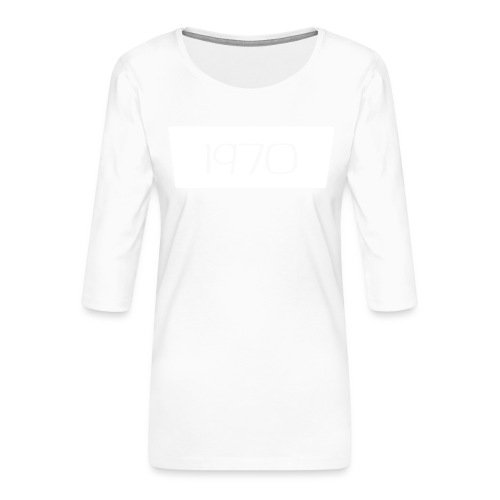 1970 - Vrouwen premium shirt 3/4-mouw