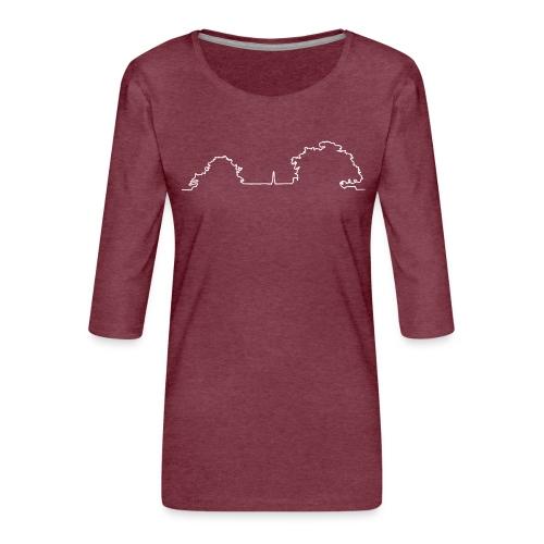 Denkmal Neuenegg - Frauen Premium 3/4-Arm Shirt