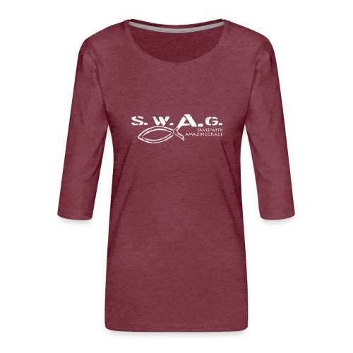 SWAG Art - Frauen Premium 3/4-Arm Shirt