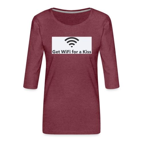 236BF4BD 7989 4C03 89F9 B9BA602E6B65 - Frauen Premium 3/4-Arm Shirt