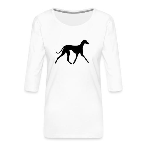 Azawakh - Frauen Premium 3/4-Arm Shirt