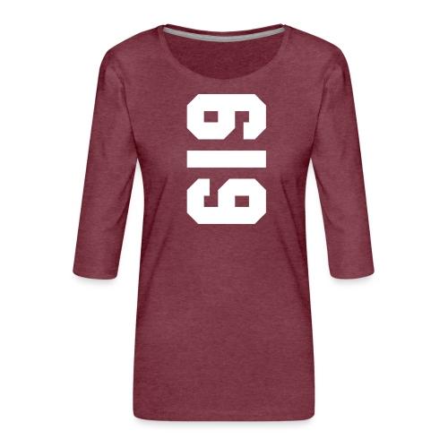 American Apperal Woman - Vrouwen premium shirt 3/4-mouw