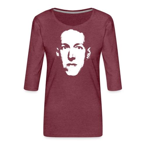 Lovecraft - Maglietta da donna premium con manica a 3/4