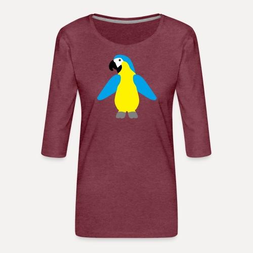 Gelbbrustara - Women's Premium 3/4-Sleeve T-Shirt