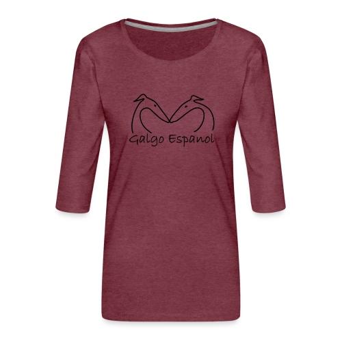 Galgopaar - Frauen Premium 3/4-Arm Shirt