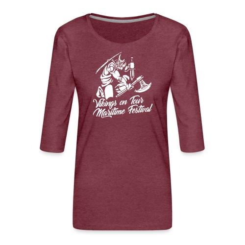 Viking Maritime - Women's Premium 3/4-Sleeve T-Shirt