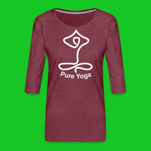 Pure Yoga - Vrouwen premium shirt 3/4-mouw