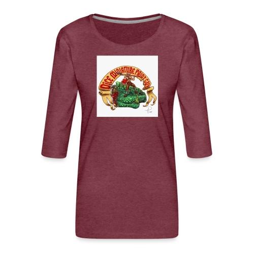 DiceMiniaturePaintGuy - Women's Premium 3/4-Sleeve T-Shirt