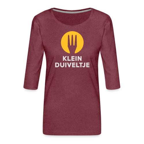 klein duiveltje - trident - T-shirt Premium manches 3/4 Femme