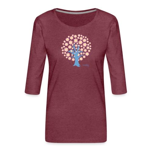 Spring - Naisten premium 3/4-hihainen paita
