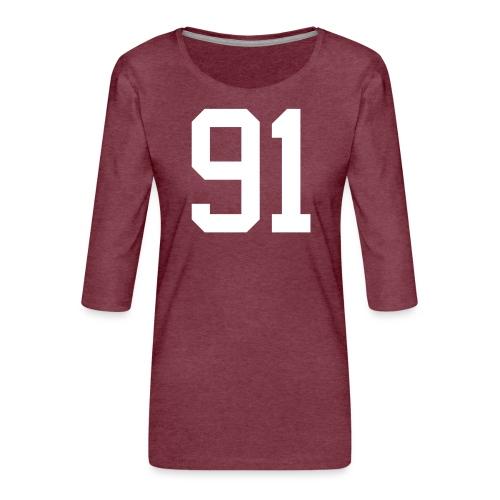 91 SPITZER Kevin - Frauen Premium 3/4-Arm Shirt