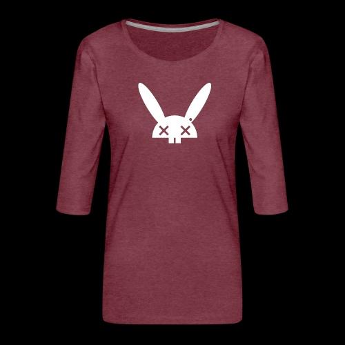 HARE5 LOGO TEE - Women's Premium 3/4-Sleeve T-Shirt