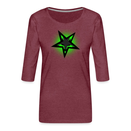 KDutch Logo - Women's Premium 3/4-Sleeve T-Shirt