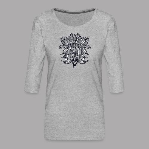 ritual black - Women's Premium 3/4-Sleeve T-Shirt