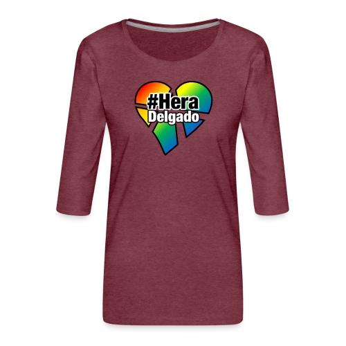 #HeraDelgado - Frauen Premium 3/4-Arm Shirt