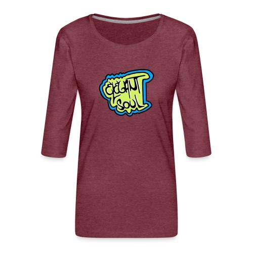 IMG 20200102 230842 - Camiseta premium de manga 3/4 para mujer