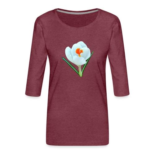 TIAN GREEN - Krokuss 2020 - Frauen Premium 3/4-Arm Shirt