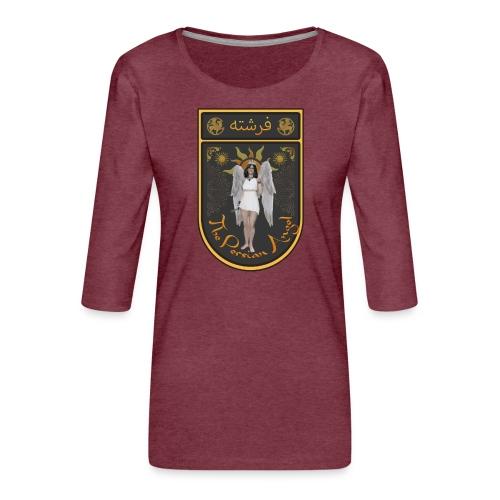 Persian Angel Anahita - Farsi Angel - Women's Premium 3/4-Sleeve T-Shirt
