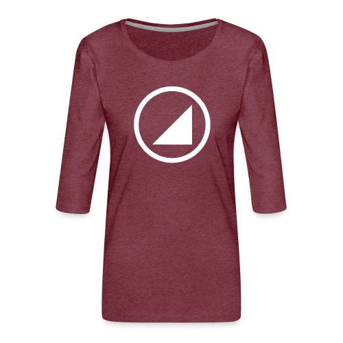 marca bulgebull - Camiseta premium de manga 3/4 para mujer