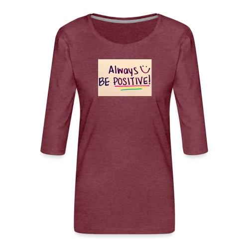 Bamse - Dame Premium shirt med 3/4-ærmer