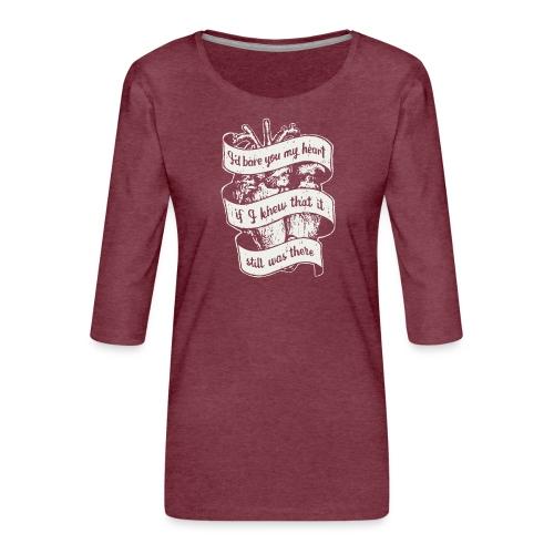 Lost heart (A tribute to The Dear Hunter) - Premium-T-shirt med 3/4-ärm dam