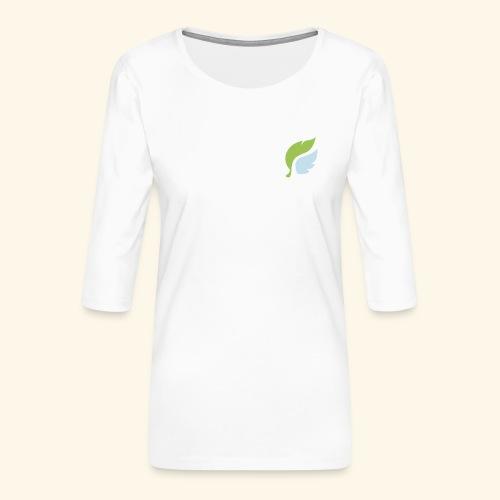 Akan White - Naisten premium 3/4-hihainen paita