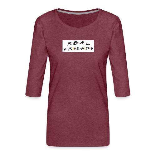 Real freinds - Dame Premium shirt med 3/4-ærmer