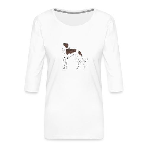 Greyhound - Frauen Premium 3/4-Arm Shirt