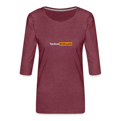Tactical Shitheads Pornhub Style - Frauen Premium 3/4-Arm Shirt
