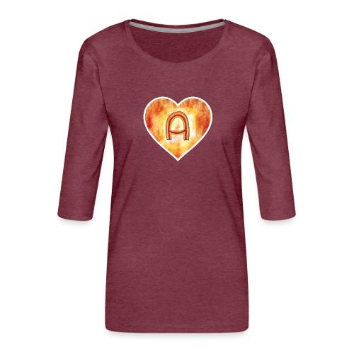 A Team - Women's Premium 3/4-Sleeve T-Shirt