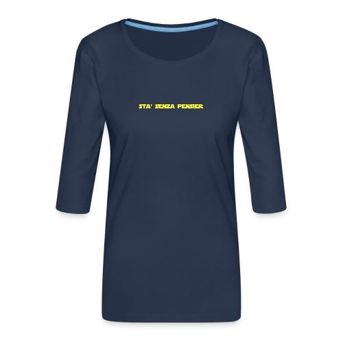 UVSMF - Maglietta da donna premium con manica a 3/4