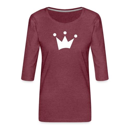 LOF Krone - Frauen Premium 3/4-Arm Shirt