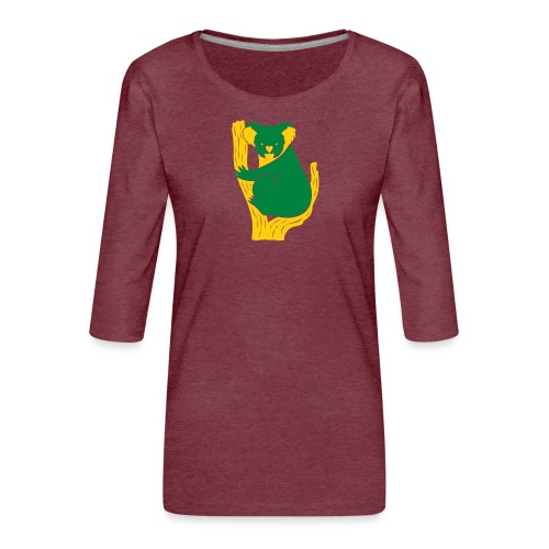 koala tree - Women's Premium 3/4-Sleeve T-Shirt