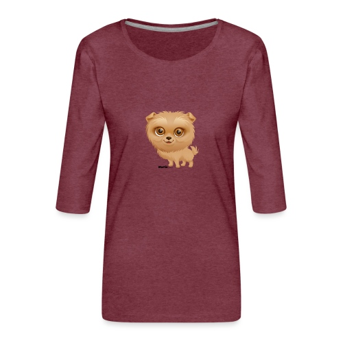 Dog - Frauen Premium 3/4-Arm Shirt