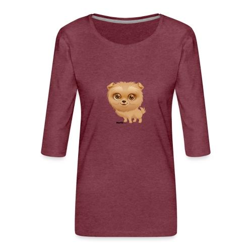 Dog - Premium T-skjorte med 3/4 erme for kvinner