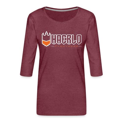 haerlo final - Vrouwen premium shirt 3/4-mouw