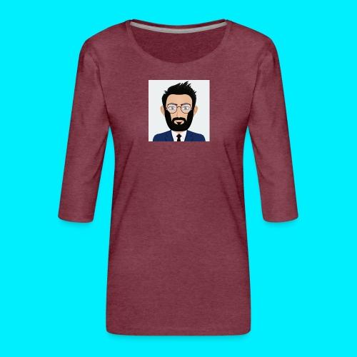 Daboy Cartoony - Vrouwen premium shirt 3/4-mouw