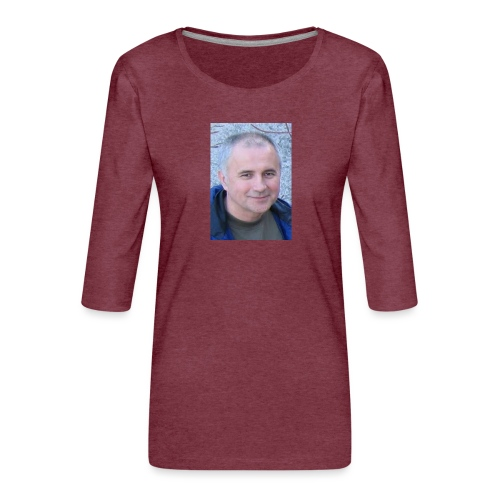 tibor csikos - Premium-T-shirt med 3/4-ärm dam