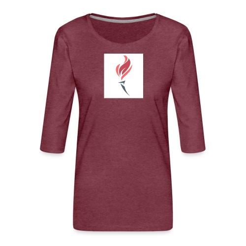 Torched Senkron - Women's Premium 3/4-Sleeve T-Shirt