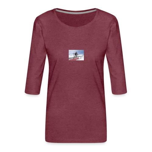 Freeski - Frauen Premium 3/4-Arm Shirt