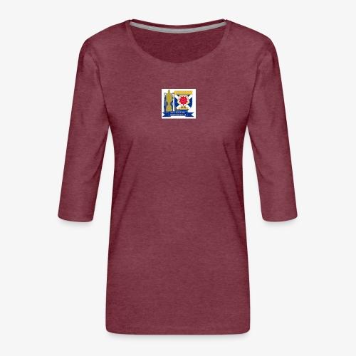 MFCSC Champions Artwork - Women's Premium 3/4-Sleeve T-Shirt