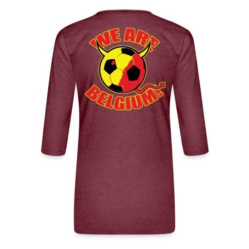 We Are Belgium - Vrouwen premium shirt 3/4-mouw