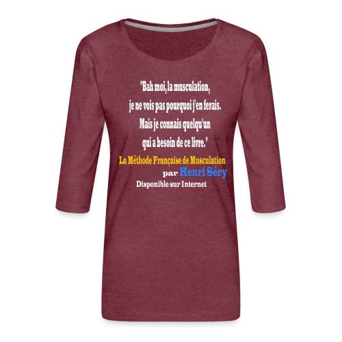 LMF Sante 2 v2 - T-shirt Premium manches 3/4 Femme