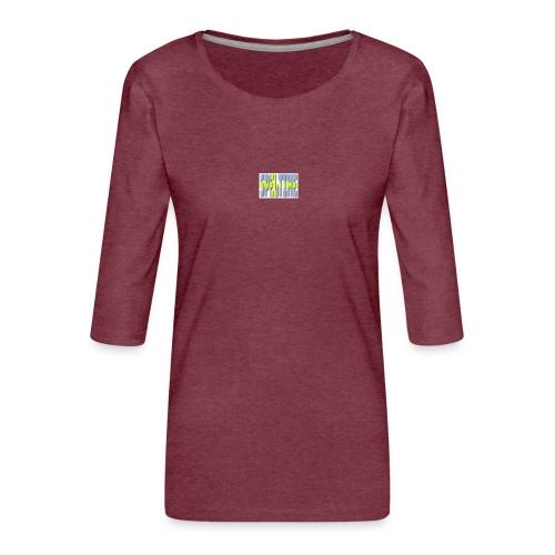 svenska - Premium-T-shirt med 3/4-ärm dam