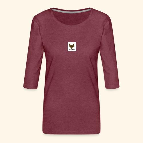 feeniks logo - Naisten premium 3/4-hihainen paita