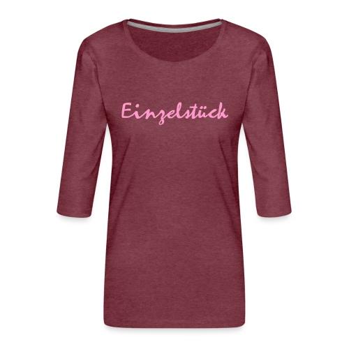 1003 Einzelstück - Frauen Premium 3/4-Arm Shirt