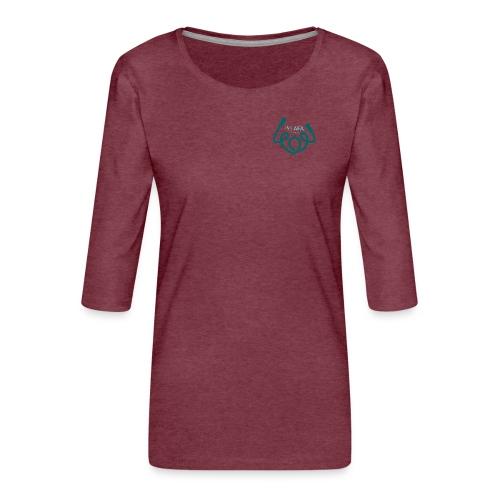 AFAfitness - Maglietta da donna premium con manica a 3/4