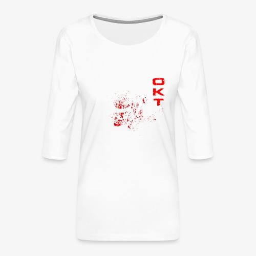 Outkasts Scum OKT Front - Women's Premium 3/4-Sleeve T-Shirt