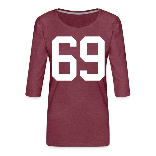 69 BUCONJIC Kristian - Frauen Premium 3/4-Arm Shirt